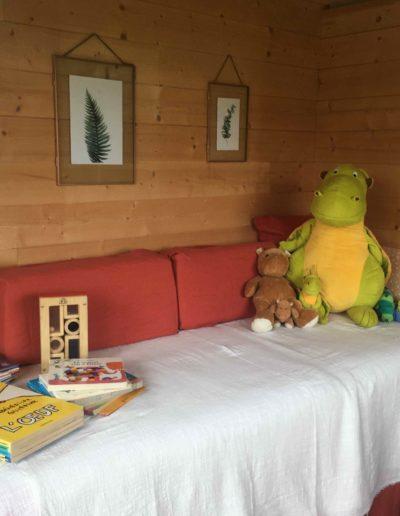 Soins réflexologie enfant Tiny house angers beaucouzé