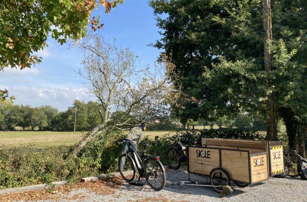 Jardiniers à vélo
